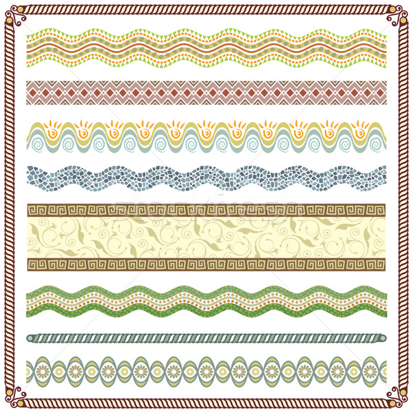 Stock photo: Pattern Border