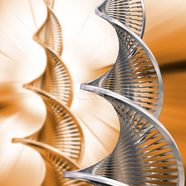 Stock photo: DNA Abstract