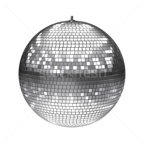 Stock photo: disco ball 3d illustration