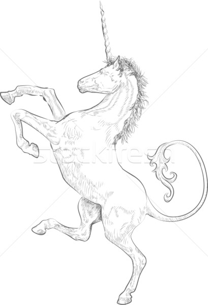 Stock photo: unicorn