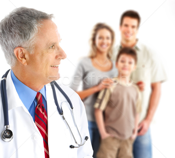 Stock photo: Family doctor