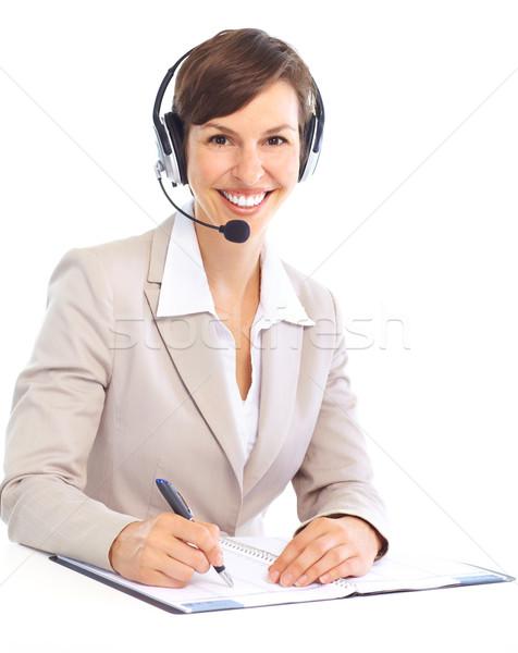 Call Center Operator stock photo © Kurhan (#670138) | Stockfresh