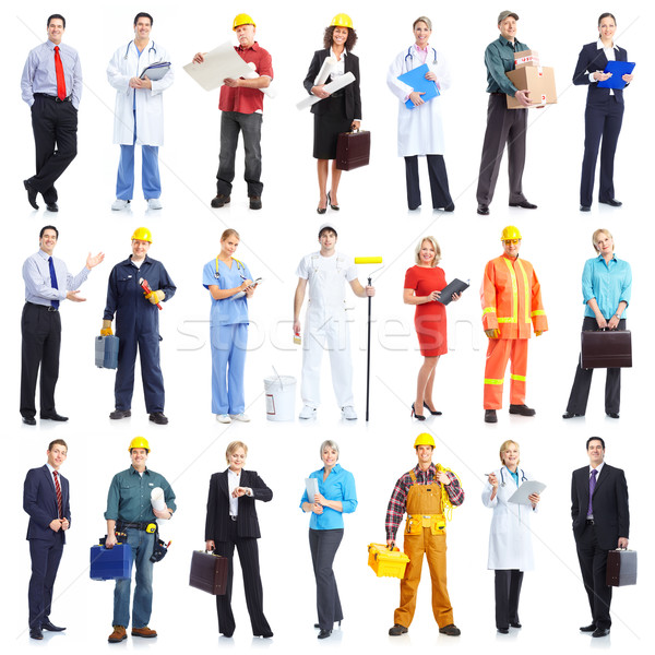Stock photo: workers people