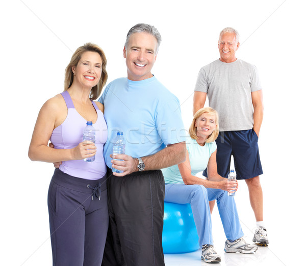 Stock photo: Gym, Fitness, healthy lifestyle