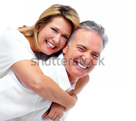 Stock photo: Couple in love