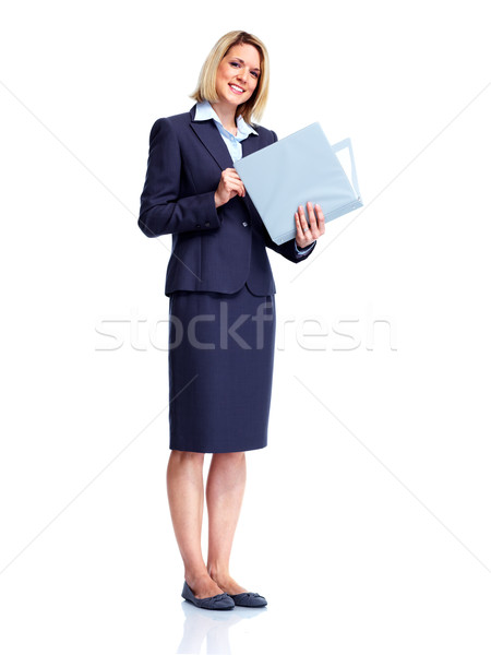 Stock photo: Accountant business woman.