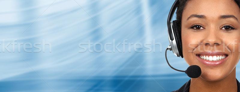 Call Center Operator stock photo © Kurhan (#429416) | Stockfresh