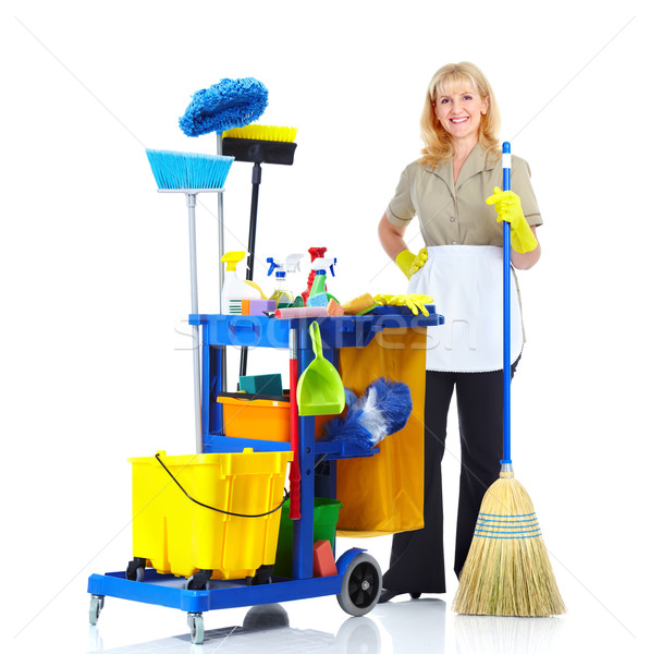 Stock photo: Cleaner.