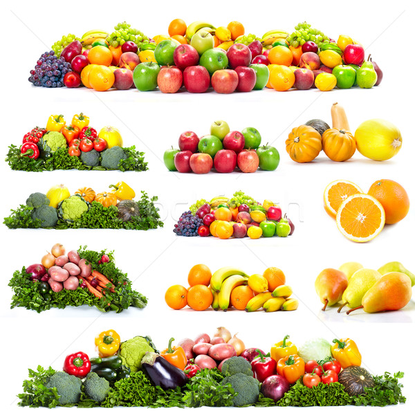 Stock photo: Fresh fruits.