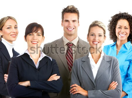 stock photo business people. Stock photo: business people