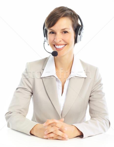Call Center Operator stock photo © Kurhan (#670137) | Stockfresh