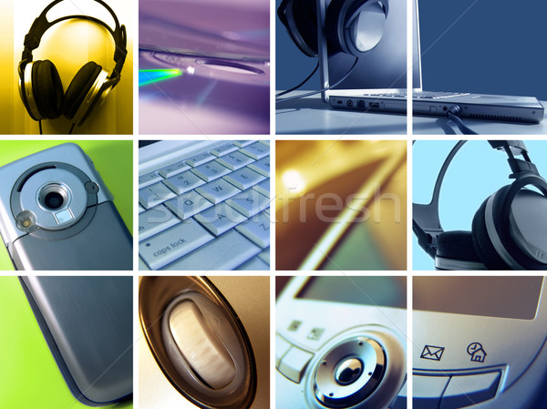 Stock photo: Technology Montage