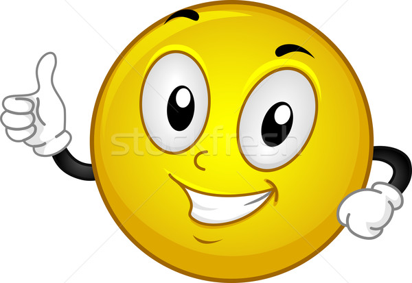 Okay Smiley vector illustration © lenm (#1555527) | Stockfresh