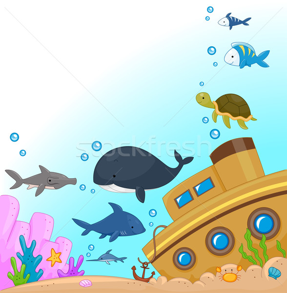 Stock photo: Underwater Animals