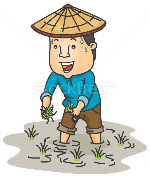 Farmer Vector Illustration 169 Lenm 499016 Stockfresh