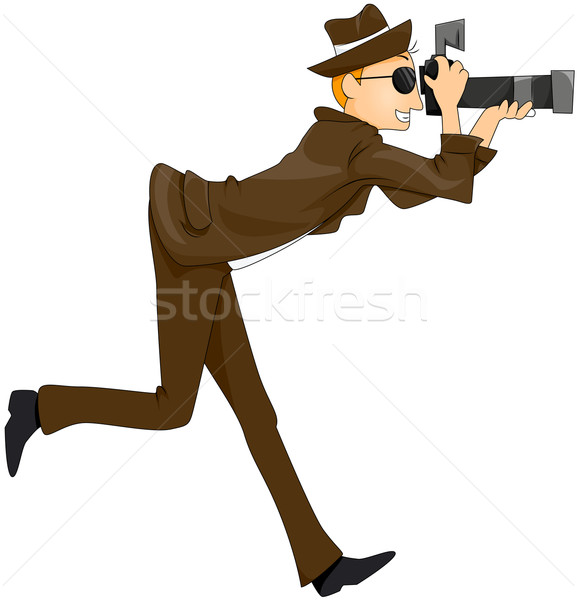 Paparazzi vector illustration lenm 456768 stockfresh for Paparazzi clipart