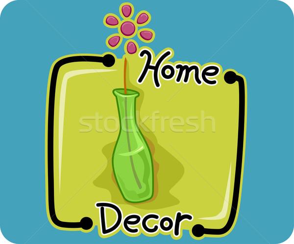 Home Decor Vector Illustration Lenm 1419793 Stockfresh