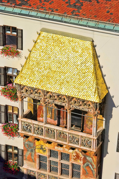 Stock photo: Innsbruck Golden Roof 07
