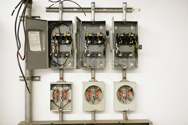 Stock photo: Electrical Meter Center