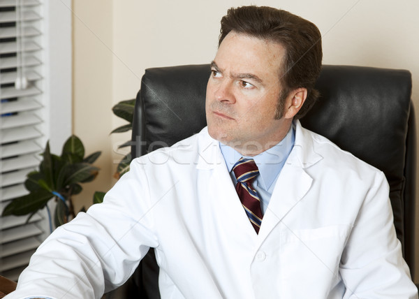 Stock photo: Worried Doctor