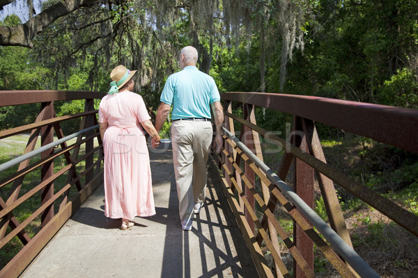 Stock photo: Out For a Stroll
