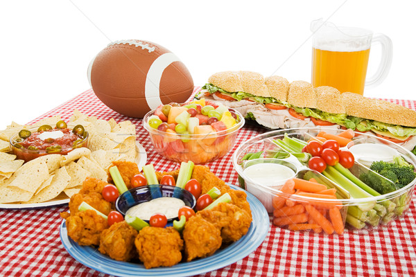 Stock photo: Football Feast