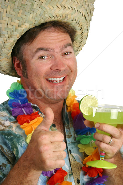 Stock photo: Margarita Party Face
