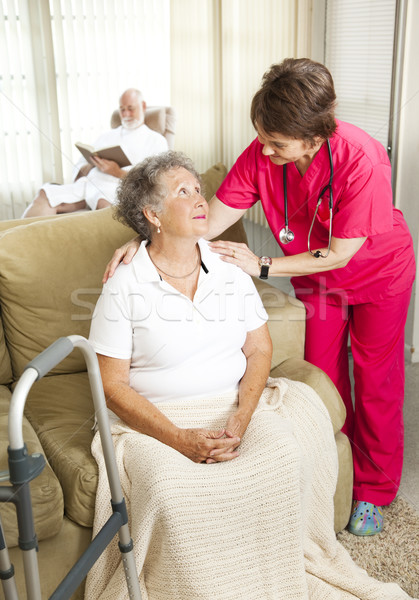 Stock photo: Senior Care in Nursing Home
