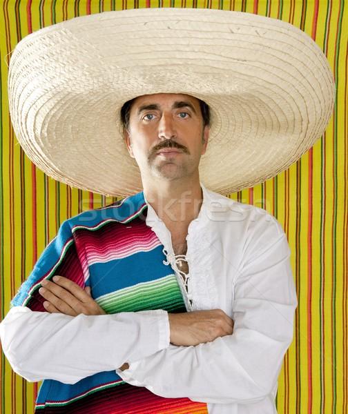 True Talent Fighting: Californication II 939180_stock-photo-mexican-mustache-man-sombrero-portrait-shirt