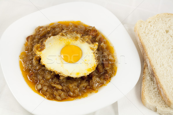Stock photo: Delicious stew