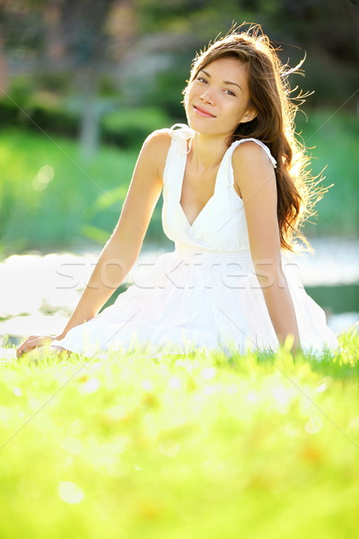 Stock photo: Summer / spring woman