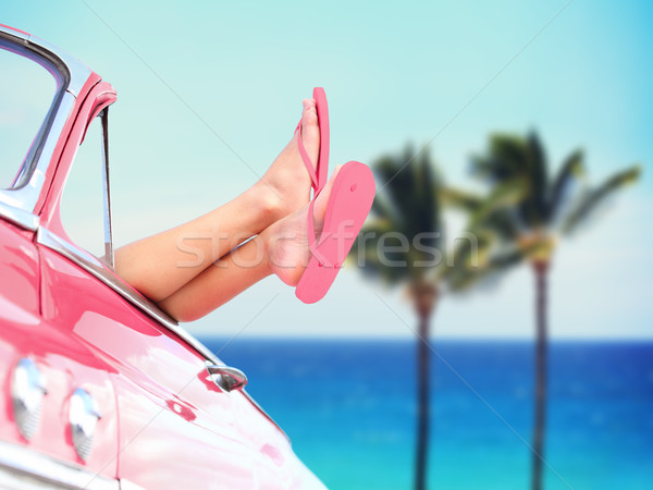 Stock photo: Vacation travel freedom beach concept