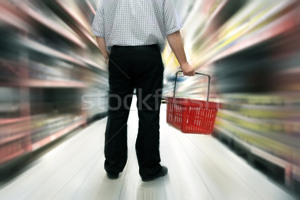 Stock photo: Food shopping