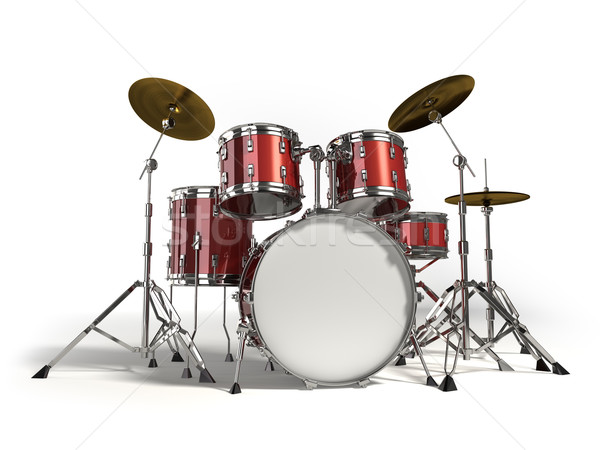 Stock photo: Drums