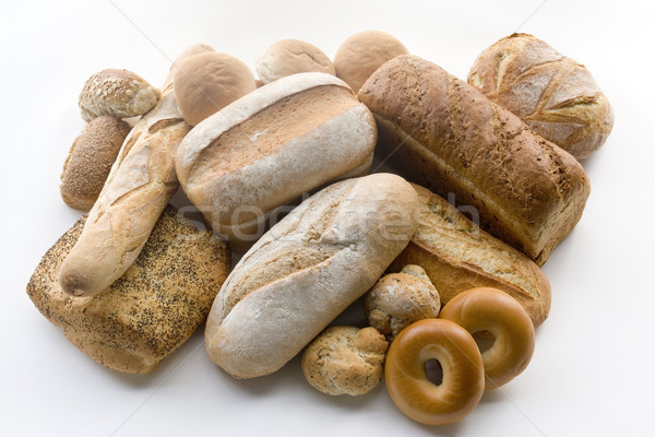Stock photo: Variety of Bread Products