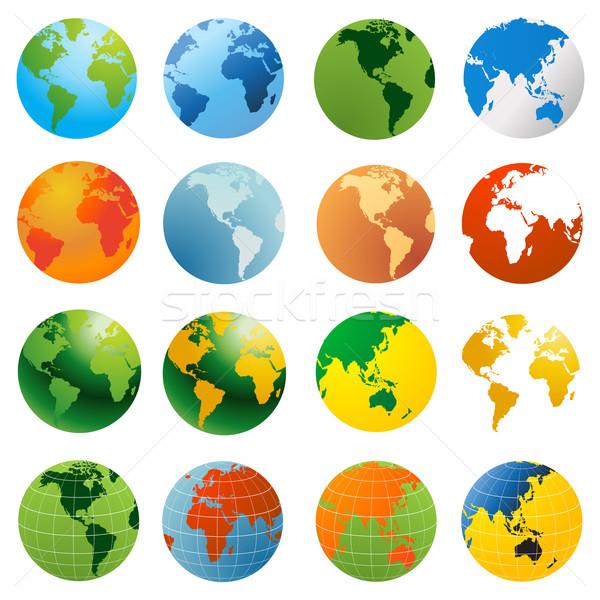 Free Vector World on Stock Photo   World Globe Vector Illustration  Vector Illustration