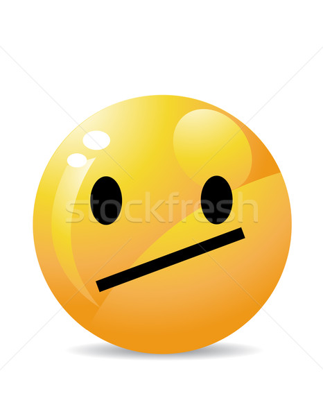 Stock photo: Smiley vector illustration