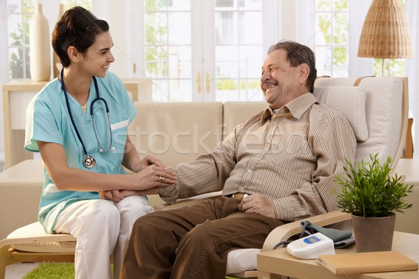 Stock photo: Healthcare at home