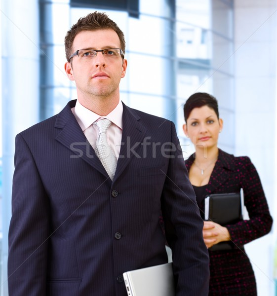 Stock photo: Downtown people