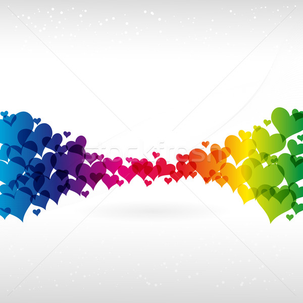 Stock photo: Abstract Colorful Background. Vector.