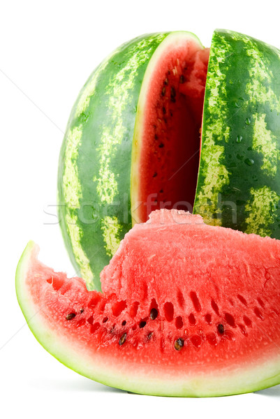 Stock photo: Ripe watermelon