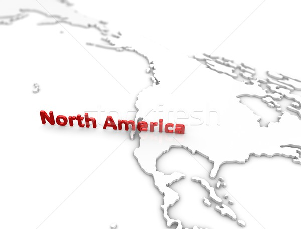 Stock photo: North America region