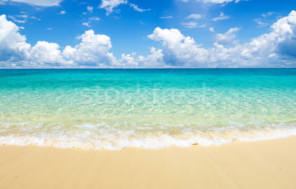 Stock photo:  sea