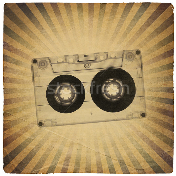 Stock photo: Vintage music abstract background