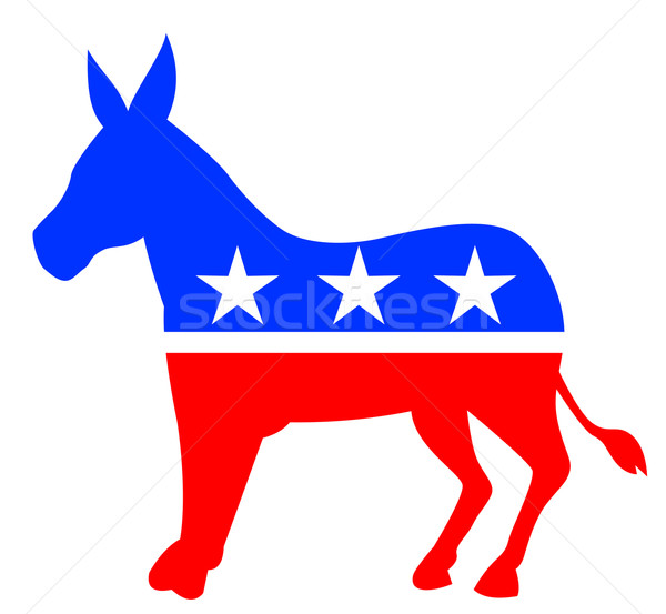 Democratic Donkey Outline #507806 outline donkey