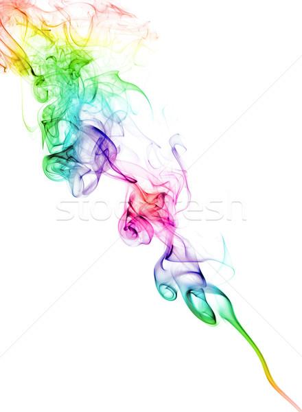 Color Smoke On White Stock Photo Petr Malyshev PetrMalyshev