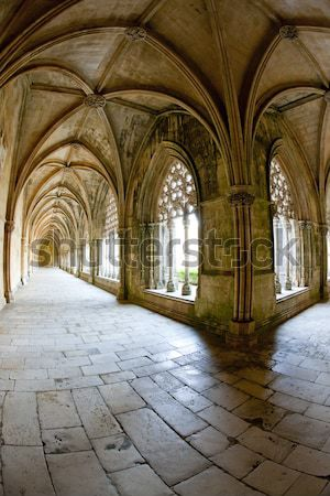 Stock photo: Royal cloister of Santa Maria da Vitoria Monastery, Batalha, Est