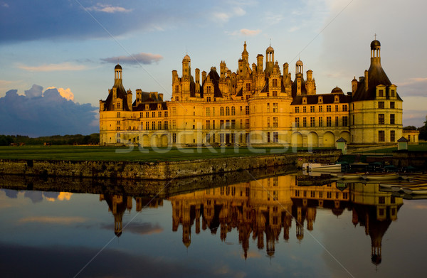 Stock photo: Chambord Castle, Loir-et-Cher, Centre, France