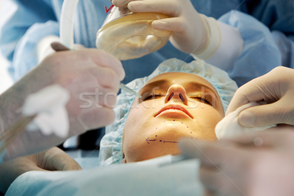 Stock photo: Patient