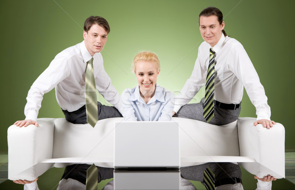 Stock photo: Working moment
